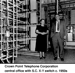 Crown Point Telephone Corporation central office